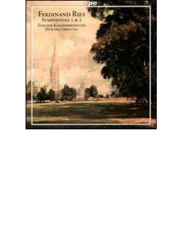 交響曲第1番/2番 グリフィス/チューリッヒ室内管弦楽団