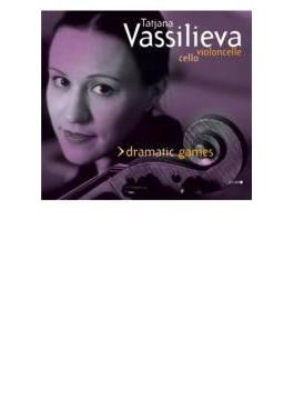 Vassilieva(Vc) Dramatic Games-contemporary Solo Cello Works