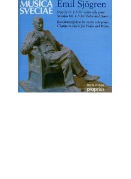 Violin Sonatas.1-5, Etc: V / A
