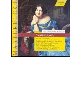 Violin Concerto, Sym.2, 4: Sitkovetsky(Vn)rilling, Marriner, Hager(Cond)