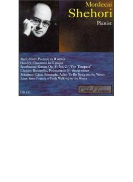 ベートーヴェン:ピアノ・ソナタ第17番『テンペスト』、ショパン:舟歌、ヘンデル:シャコンヌ、他 シェホリ