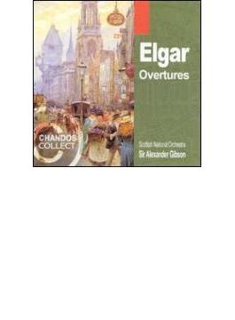 エルガー:序曲集/アレクサンダー・ギブソン(指揮)、スコティッシュ・ナショナル管弦楽団