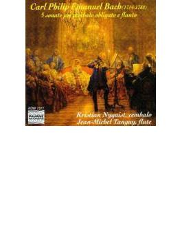 Flute Sonatas: Tanguy(Fl) Nyquist(Cemb)