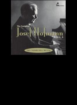 J.hofmann Complete Josef Hofmann Vol.6