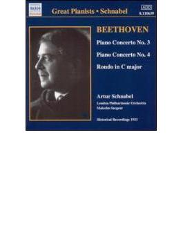 ピアノ協奏曲第3番/第4番/ロンドOp.51-1 シュナーベル/サージェント/ロンドン・フィル