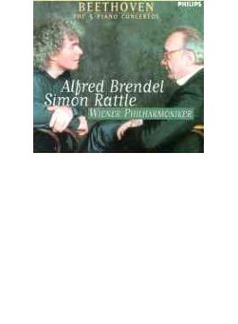 ピアノ協奏曲全集 ブレンデル(P)、ラトル&ウィーン・フィル(3CD)
