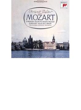 交響曲第40番、第38番『プラハ』 ワルター&コロンビア交響楽団(シングルレイヤー)