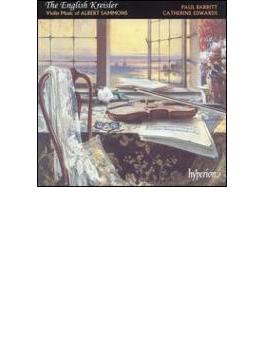 [イギリスのクライスラー サモンズ:ヴァイオリン作品集]バーリット(vn)/エドワーズ(p)