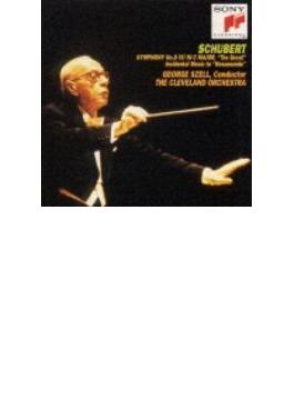 Sym.9: Szell / Cleveland.o +musicfron Rosamunde