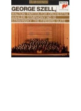 Sym, 10, -1 & 3 Movements: Szell / Cleveland O +stravinsky: Firebird