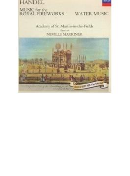 ヘンデル:王宮の花火の音楽、水上の音楽 マリナー