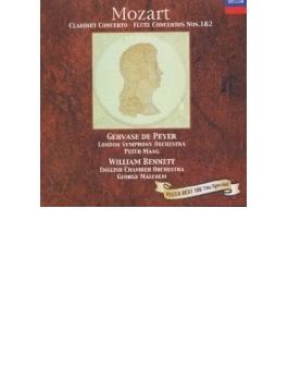 モーツァルト:クラリネット協奏曲、他 ペイエ/マーク