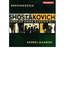 ショスタコーヴィチ:弦楽四重奏曲全集 Vol.1 ソレル・クヮルテット