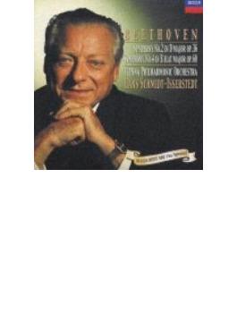 ベートーヴェン:交響曲第2番、第4番 ハンス・シュミット=イッセルシュテット