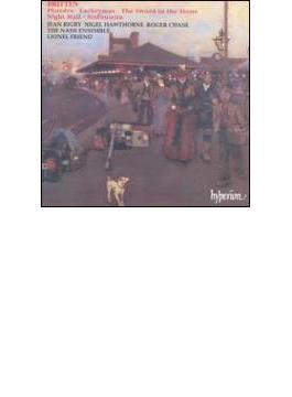 ブリテン:室内楽曲集~カンタータ「フェードラ」他 フレンド/ナッシュ・アンサンブル (CDH 55225へ移行)