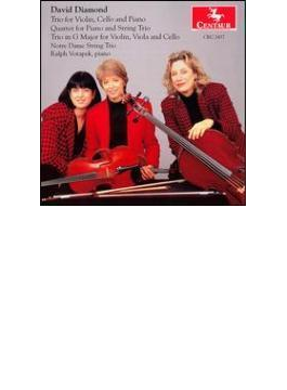 Chamber Works: Notre Dame String Trio