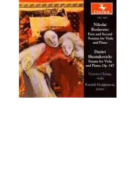 Viola Sonatas.1, 2: Chiang(Va)