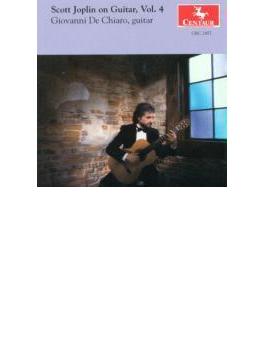 Scott Joplin On Guitar Vol.4: Giovanni De Chiaro