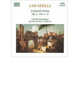 合奏協奏曲第1~6番 クレチェク/カペラ・イストポリターナ