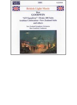 ブリティッシュ・ライト・ミュージック 組曲「ドレイク400」/ニュージーランド組曲/ビーナス・ワルツ他 NZ響/グッドウイン