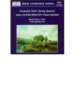 Piano Quintet: Tinney(P) Vanbrugh Q +f.may: String Quartet