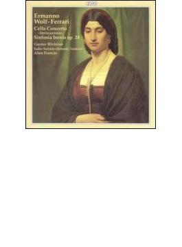 チェロ協奏曲、ほか リフィニウス、フランシス/BBCスコットランド交響楽団