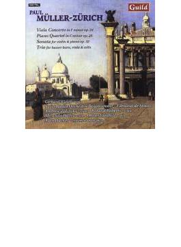 Viola Concerto: Wieser(Va)stoutz / Swiss.ro +chamber Works