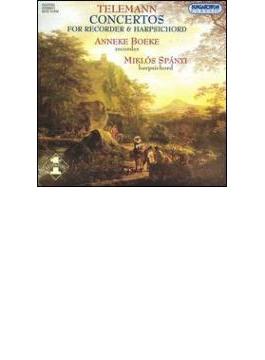 Concertos For Recorder & Harpsichord: Boeke(Rec)spanyi(Cemb)