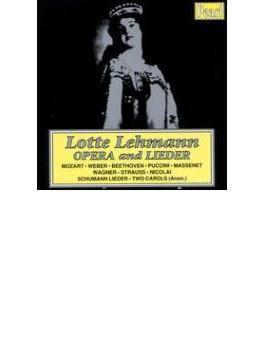 Lotte Lehmann-arias & Songs