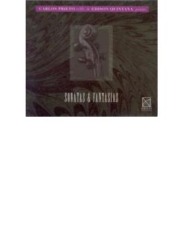 Prieto(Vc) Sonatas & Fantasias