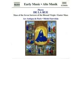 <ミサとモテット集>ミサ「7つの悲しみの聖母」/モテット「天なる父」/復活祭のミサ/他 サンヴォワザン/アルス・アンティクァ・ド・パリ