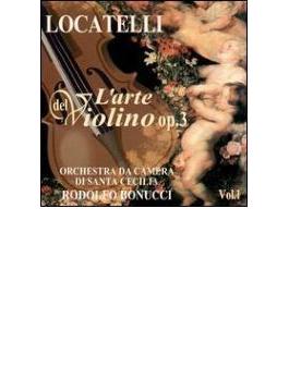 ヴァイオリンの技法Op3-Vol.1 ロドルフォ・ボヌッチ(Vn)、聖チェチリア室内管
