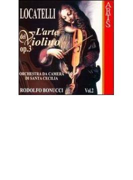 ヴァイオリンの技法Op3-Vol.2 ロドルフォ・ボヌッチ(Vn)、聖チェチリア室内管