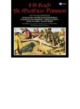 マタイ受難曲 クレンペラー&フィルハーモニア管弦楽団(3CD)