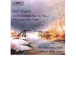 Violin Sonatas.1, 2, Poem: Enoksson(Vn)stott(P)