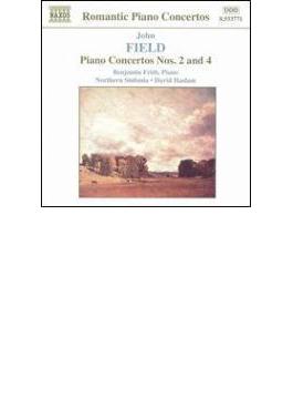 ピアノ協奏曲全集Vol.2ピアノ協奏曲第2番/第4番 フリス/ハスラム/ノーザン・シンフォニア