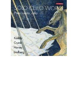 Panu Luosto: Solo Cello Works-kodaly, Crumb, Harvey, M.lindberg