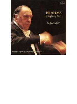 ブラームス:交響曲第1番、メンデルスゾーン:交響曲第4番 サンティ&読売日本交響楽団