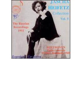 Violin Concerto: Heifetz(Vn)rodzinski / Nyp Heifetz Collection Vol.5