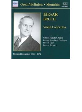 ヴァイオリン協奏曲第1番Op.26/ヴァイオリン協奏曲ロ短調Op.61 メニューイン/エルガー/ロナルド/ロンドン交響楽団