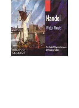 ヘンデル:水上の音楽(全曲) ギブソン/スコットランド室内管弦楽団