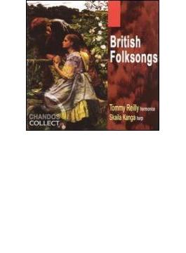 ハーモニカとハープによるイギリス民謡集 ライリー(ハーモニカ)/カンガ(ハープ)