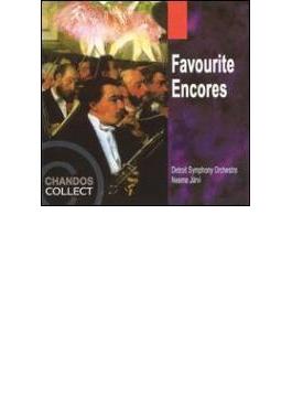 フェイヴァリット・アンコール(オーケストラ・ショーピース集) ヤルヴィ/デトロイト交響楽団
