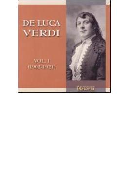 Opera Arias: De Luca Vol.1