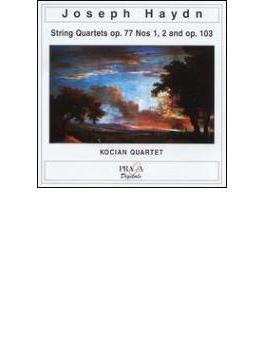 String Quartet.81, 82, 83(Op.77, 103): Kocian Q