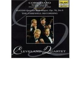 弦楽四重奏曲 クリーヴランド四重奏団 +haydn Quartet.79