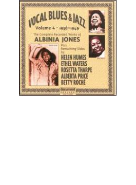 Vocal Blues & Jazz Vol.4 1938-1949