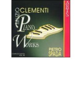 ソナタ、デュエットと奇想曲Vol.18 ピアノ作品集、幻想曲と変奏曲 ピエトロ・スパーダ(P)