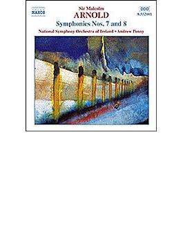 交響曲第7番/第8番 ペニー/アイルランド国立交響楽団