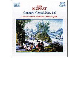 <12の合奏協奏曲1>第1番~第6番 ザイーチェク/ムジカ・エテルナ・ブラティスラヴァ